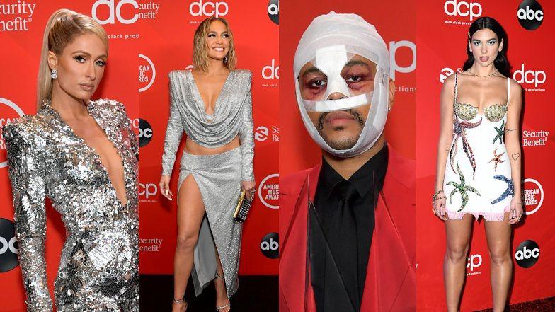 Gwiazdy na American Music Awards: Jennifer Lopez, Megan Fox, The Weeknd