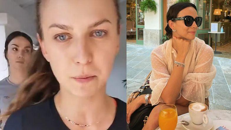 """Paulina Krupińska spełnia """"koszmar by Ann"""" i pije SŁODZONE CAPPUCCINO. """"Nie będę fit"""""""