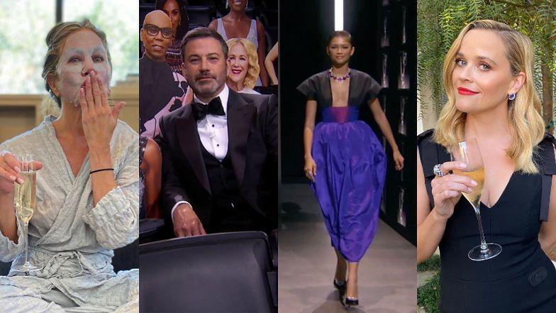 Emmy 2020. Triumfująca w dwóch kreacjach Zendaya, Jennifer Aniston w piżamie i kartonowa publiczność