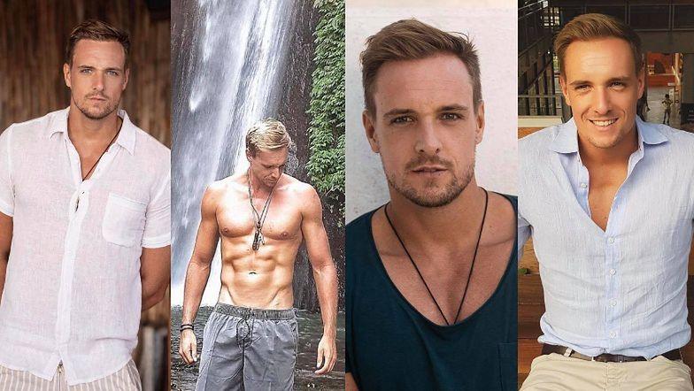 CIACHO TYGODNIA: Max Gloeckner - miłośnik podróży, entuzjasta siłowni i nowy ukochany Marceliny Zawadzkiej (ZDJĘCIA)