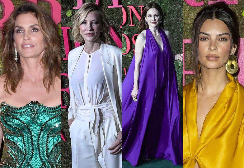 Cindy Crawford, Cate Blanchett, Julianne Moore i Emily Ratajkowski