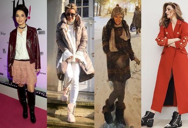 Jakie buty zimowe wybierają celebrytki?
