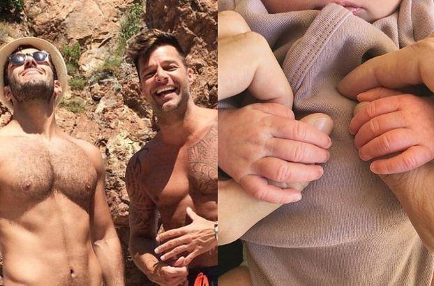 Ricky Martin został ojcem! Pokazał zdjęcie córki na Instagramie (FOTO)