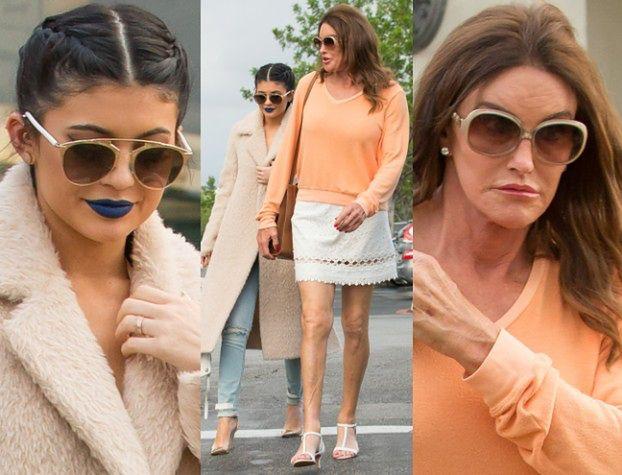 Caitlyn i Kylie Jenner idą razem na obiad (ZDJĘCIA)