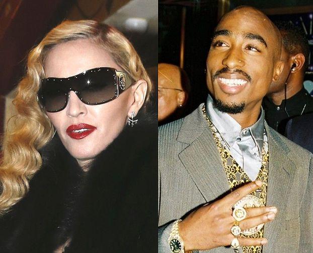"""Tupac i Madonna... byli parą! """"Czułam się bardzo gangstersko"""""""