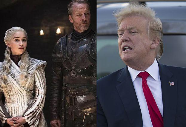 """Donald Trump udostępnił mema z """"Gry o tron"""". Naraził się twórcom serialu"""