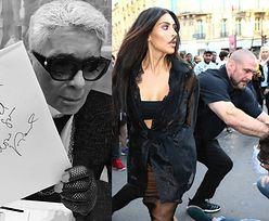 """Lagerfeld krytykuje Kardashian: """"Nie możesz wystawiać na pokaz bogactwa, a potem się dziwić!"""""""