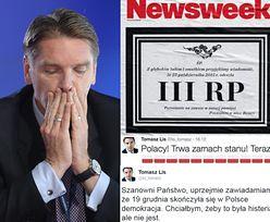 """Sprzedaż """"Newsweeka"""" Tomasza Lisa spadła o 17%. Wyprzedziła go """"Polityka"""""""