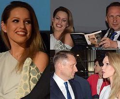 Uśmiechnięty Kamil Durczok promuje książkę z 26-letnią pracownicą (ZDJĘCIA)