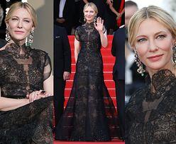 Cate Blanchett recyklinguje suknię Armaniego w Cannes