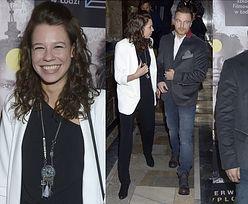 40-letni Wieczorek z 23-letnią dziewczyną na premierze (FOTO)