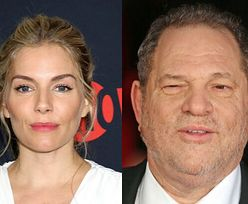"""Sienna Miller wyznaje: """"Harvey Weinstein doprowadził mnie do łez"""""""