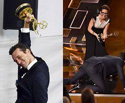 Jon Hamm odbierając Emmy podziękował... psu i byłej dziewczynie!