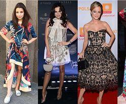 Oryginalne sukienki w stylizacjach celebrytek