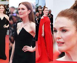 Julianne Moore zachwyca w dwóch kreacjach na czerwonym dywanie w Cannes (ZDJĘCIA)