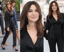 Cannes 2019: Zniewalająca Monica Bellucci promuje film w eleganckim kombinezonie