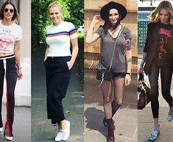 Najciekawsze T-shirty na lato w stylizacjach celebrytek