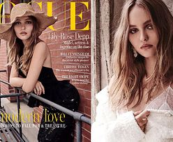 """Lily-Rose Depp pozdrawia ze swojej siódmej okładki """"Vogue'a"""""""