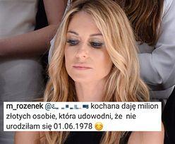 """Rozenek rzuca wyzwanie na Instagramie: """"DAJĘ MILION osobie, która udowodni, że nie urodziłam się w 1978 roku!"""""""