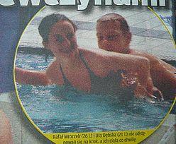 """Mroczki na basenie. Z """"laskami"""""""