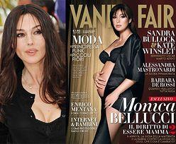 """Bellucci pokazuje brzuch w """"Vanity Fair""""!"""