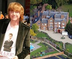 Rupert Grint wydał 9 milionów funtów na trzy domy!