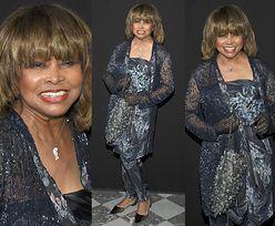 Szczęśliwa Tina Turner bawi się na pokazie Armaniego