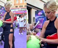 Siostra Radwańskiej bez majtek na gali Wimbledonu!
