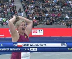 Anita Włodarczyk POBIŁA REKORD ŚWIATA!