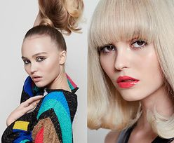 """Lily-Rose Depp eksperymentuje z wizerunkiem na łamach """"Glamour"""""""