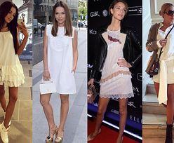Dodatki do białej sukienki - jak ożywić małą białą?