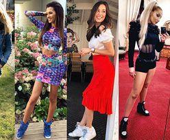 Sportowe buty na koturnie - jakie noszą celebrytki?