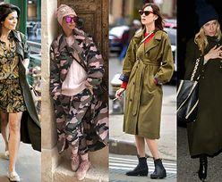 Najciekawsze militarne płaszcze – z czym noszą je gwiazdy?