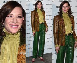 Cate Blanchett w wężowej stylizacji i nowym kolorze włosów