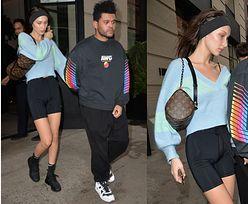 """""""Naturalna"""" Bella Hadid i The Weeknd w drodze do restauracji"""