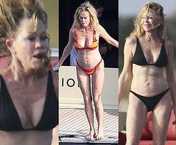 61-letnia Melanie Griffith odsłania wyćwiczoną sylwetkę na jachcie w Hiszpanii (ZDJĘCIA)
