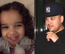 """Rob Kardashian opublikował słodkie wideo ze swoją córeczką. """"Dobranoc tatusiu, jutro będziemy się bawić!"""""""