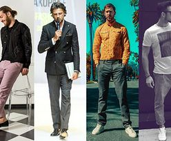 Męskie spodnie lniane - trendy na lato