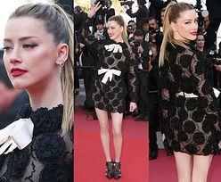 Amber Heard odsłania nogi w prześwitującej sukience