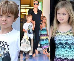 Angelina z bliźniakami na urodzinowych zakupach! (ZDJĘCIA)
