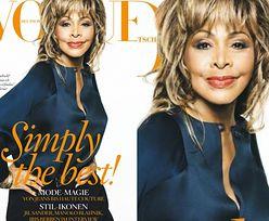 "73-letnia Tina Turner w ""Vogue'u""!"