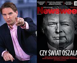 """Lis pokazał nową okładkę """"Newsweeka""""... z """"Trumpem-Kaczyńskim"""""""
