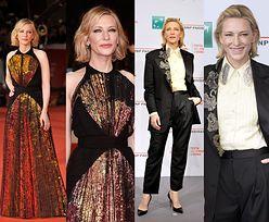 49-letnia Cate Blanchett zachwyca w dwóch stylizacjach na festiwalu filmowym w Rzymie (FOTO)