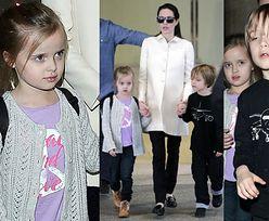 Angelina z bliźniakami na lotnisku w Los Angeles (ZDJĘCIA)