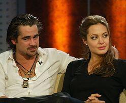 """Angelina Jolie i Colin Farrell znów mają się ku sobie? """"On jest teraz zupełnie innym mężczyzną"""""""