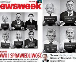 """Lis pokazuje nową okładkę """"Newsweeka"""": """"Będzie prawo i będzie sprawiedliwość!"""" (FOTO)"""