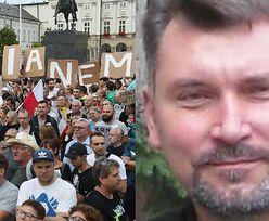 """Skandaliczne słowa wykładowcy z Lublina o protestujących pod Sejmem: """"To BYDŁO, do którego należy STRZELAĆ!"""""""