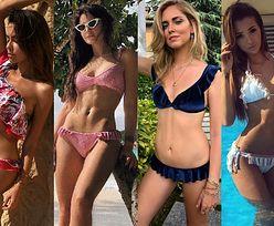 Stylowe bikini z falbanką – jakie wybierają celebrytki?