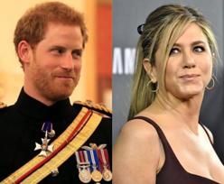 Książę Harry był zakochany w Jennifer Aniston?! Wysyłał jej tajemnicze SMS-y...