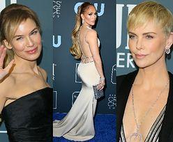 Gwiazdy na Critics' Choice Awards: Skromna Lopez, wydekoltowana Theron, Hathaway, Kidman... (ZDJĘCIA)